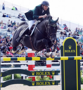 khaled al eid of saudia arabia on presley boy leads in individual show jumping